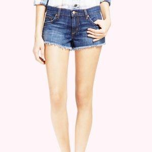 Joe's Jeans Cut Off Denim Shorts Frayed Hem